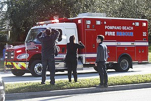 Gunman Kills At Least 17 People At Florida High School