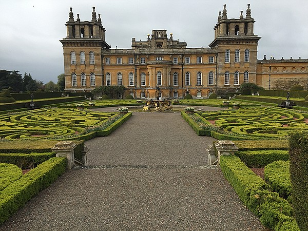 The historic Blenheim Palace estate, which is situated in...