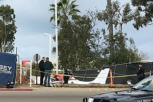Photo for One Person Dead After Plane Crash In Kearny Mesa