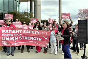 Nurses Throughout California Rally Against Supreme Court ...