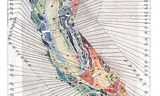 Obi Kaufmann painted this map of the ecological...
