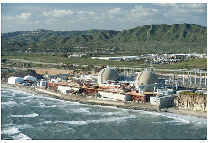 San Onofre Nuclear Power Station, unknown date.