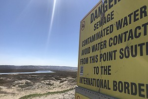San Diego Mayor Plans To Talk About Cross-Border Sewage D...