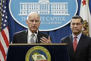 California Gov. Brown Denounces Jeff Sessions Over Federa...