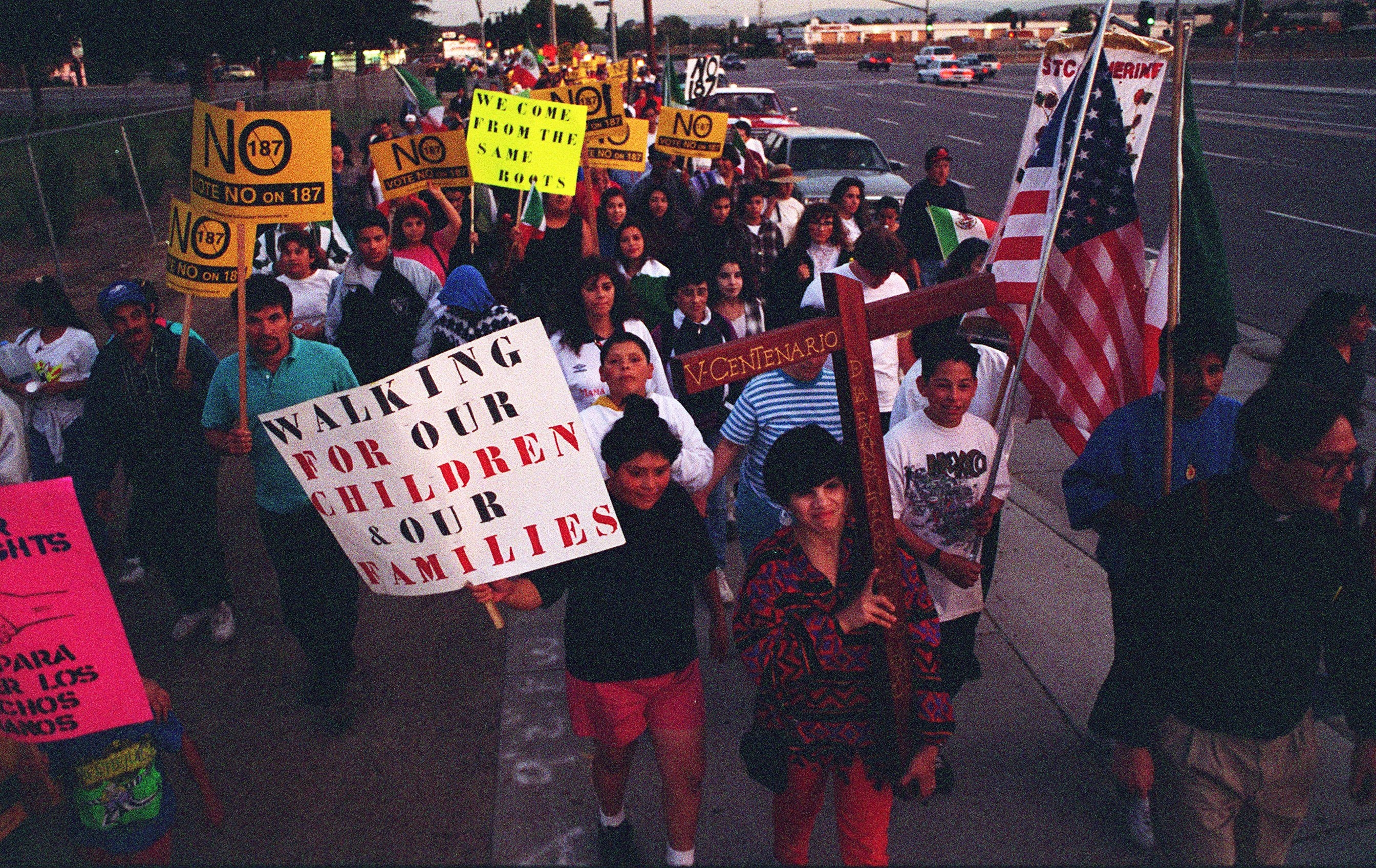 San Diegans Reflect On 25 Years After Prop. 187