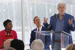 George Lucas Breaks Ground On LA's Museum Of Narrative Art