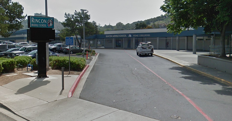 Rincon Middle School is shown in this undated image.