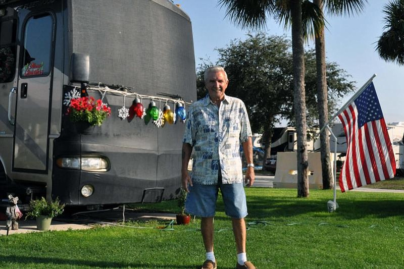 Rhode Island resident Tom Peters regularly vacations at the MacDill Air Force...