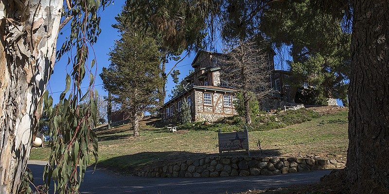 One of the houses on the HiCaliber Horse Rescue property in Valley Center on ...