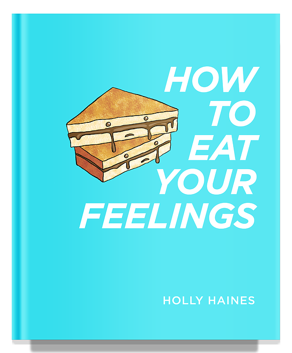 Book cover of San Diego food blogger Holly Haines new boo...