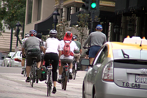 Mayor Faulconer Nixes 2019 Deadline For Downtown Bike Net...