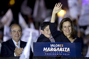 Mexican Independent Presidential Candidate Margarita Zava...