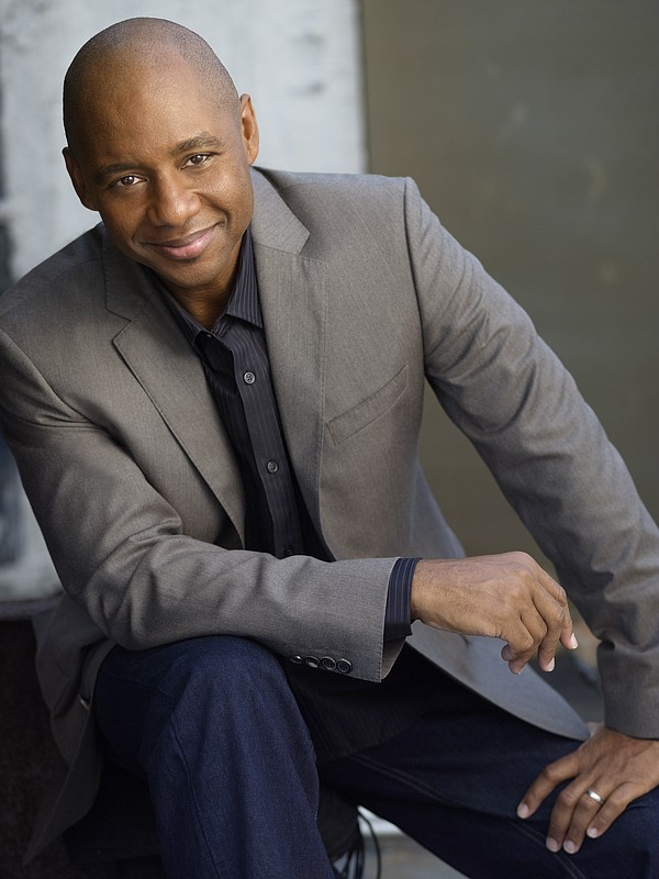 A promotional photo of musician Branford Marsalis.
