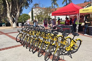 San Diego State Partners With Ofo To Offer Dockless Bike ...