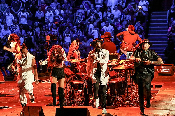 apl.de.ap, Lydia Lucy, will.i.am and Taboo perform at Roy...