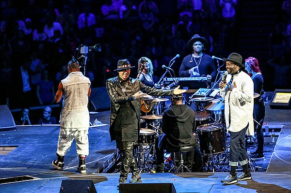 apl.de.ap, Taboo and will.i.am of the Black Eyed Peas per...