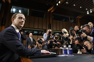 Photo for Zuckerberg Testimony Reveals Lawmaker Confusion On Facebook