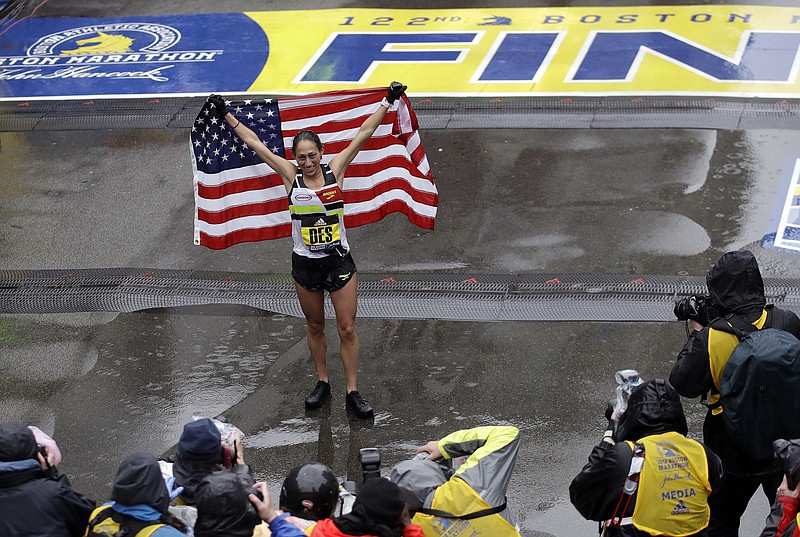 7abeff8b9167e Chula Vista Native Desi Linden Wins Boston Marathon