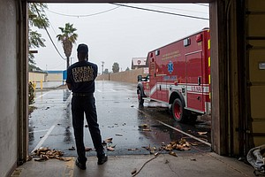 A Firefighter In San Diego Confronts The Trauma Of The Job