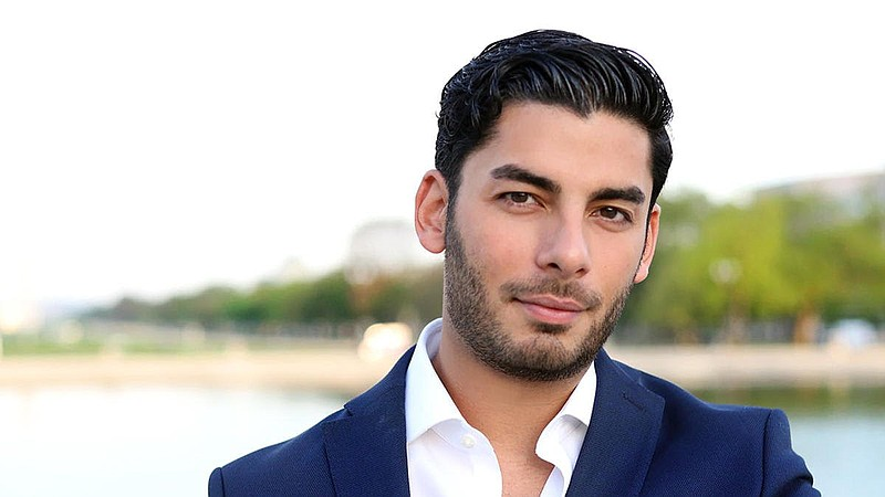 Ammar Campa-Najjar, a candidate to represent the 50th District in the House o...