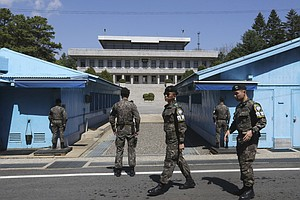 S.Korea Halts Propaganda Broadcasts Before Summit With N...