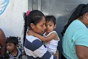 Central American Asylum-Seekers Continue To Arrive In Tij...
