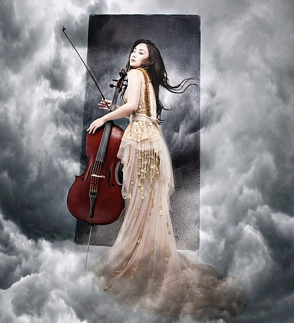 A promotional photo of cellist Tina Guo.