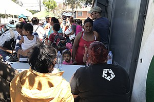 Final 150 Central Americans In Caravan Arrive In Tijuana