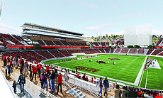 A rendering of the SDSU West project, April 27,...