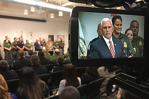 Vice President Mike Pence To Visit Calexico Border Constr...