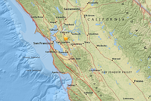 Minor 3.3 Magnitude Quake Shakes San Francisco Bay Area