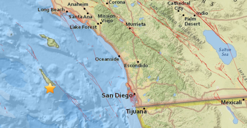 3 Small Quakes Occur Under Ocean Off Southern California Kpbs