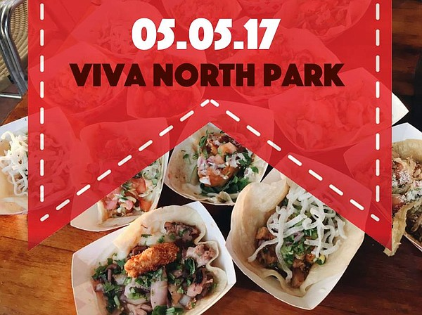 A promotional poster for iViva North Park!