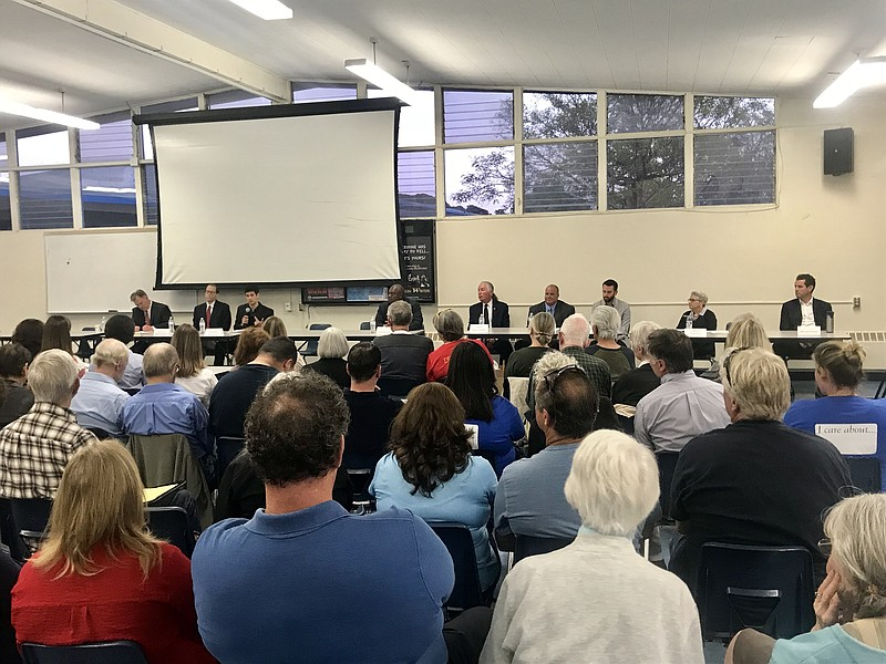 Candidates in the race for San Diego City Council District 2 and District 6 s...
