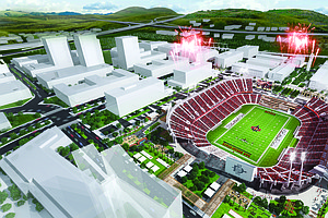 Photo for Survey Considers Options For Proposed SDSU Sports Stadium