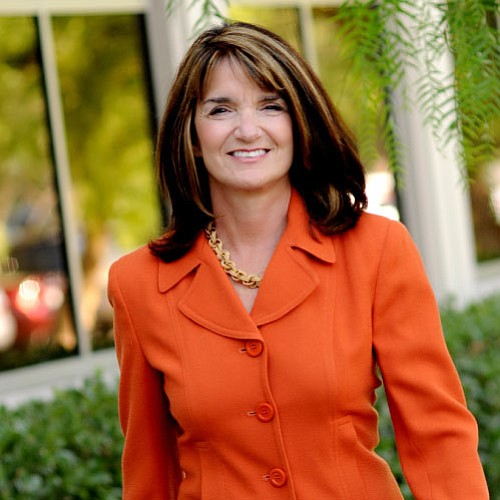 Republican Diane Harkey, a candidate in the 49th congress...