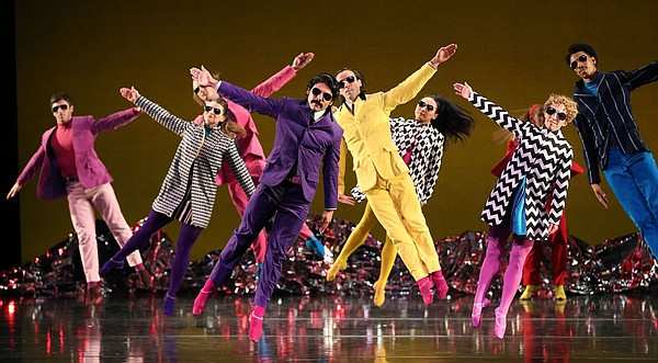 A promotional photo from Mark Morris Dance Group's