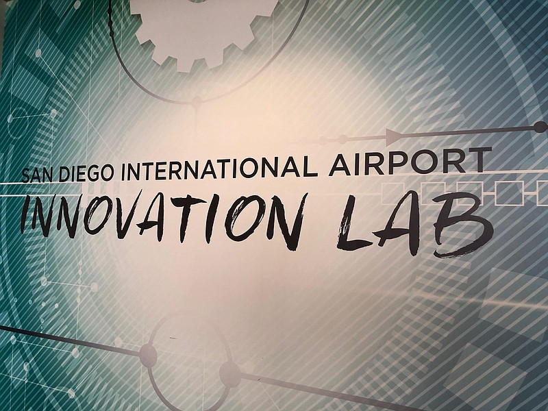 San Diego International Airport's Innovation Lab is located in the former com...