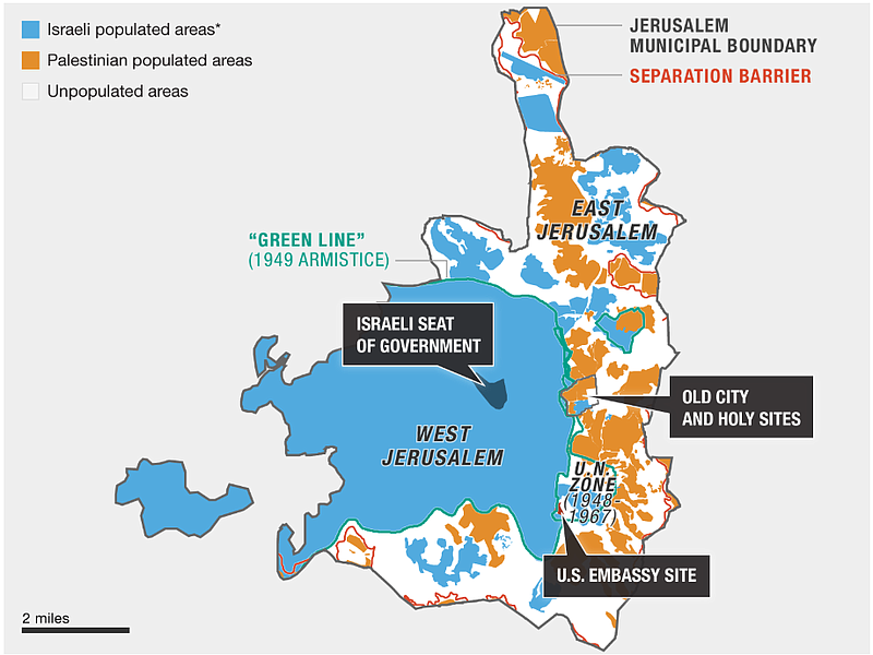 Understanding The Map Of Jerusalem, Or Trying To | KPBS