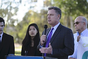 Rep. Peters Makes Plea To Get Funding For San Diego Unifi...
