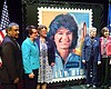 The U.S. Postal Service held a ceremony at UC S...