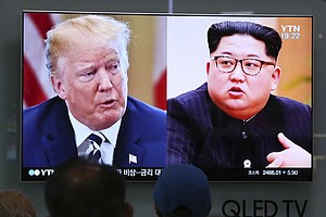 Photo for Trump Cancels Summit, Citing 'Open Hostility' By North Korea
