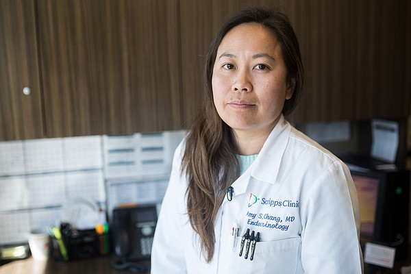 Dr. Amy Chang, an endocrinologist at Scripps Clinic in La...