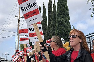 Photo for National City Teachers Vote In Favor Of Strike