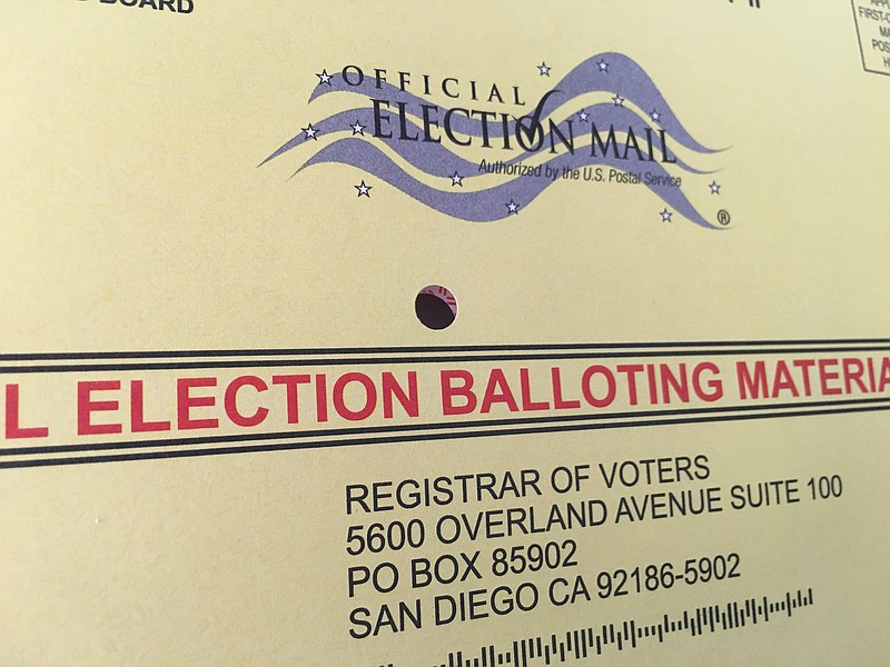 Final Day To Request Mail-In Ballot Is Tuesday | KPBS