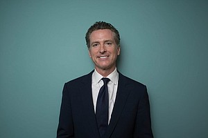 Gavin Newsom Says He Has 'Courage For A Change'