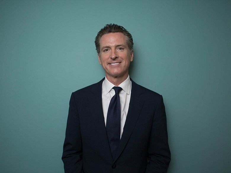 California Lt. Gov. Gavin Newsom is pictured in this undated photo.