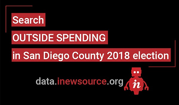 Click here to visit the inewsource outisde spending datat...