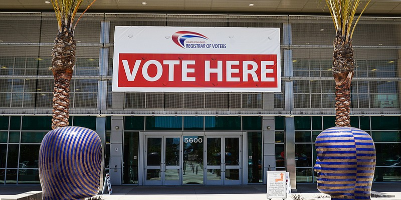 The San Diego County Registrar of Voters Office in Kearny Mesa, May 30, 2014.