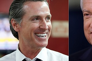 Photo for Cox, Newsom Square Off In California Governor Debate